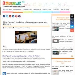 """Mini """"speed"""" hackaton pédagogique autour de Plickers - Educavox"""