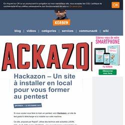 Hackazon – Un site à installer en local pour vous former au pentest «