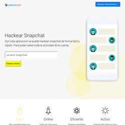 Hackear Snapchat 2020 Online