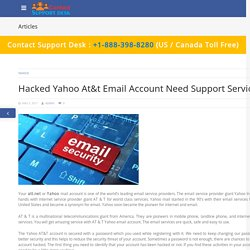 Hacked Yahoo At&t Email Account Need Support Service -