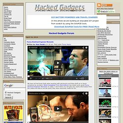 Hacked Gadgets – DIY Tech Blog