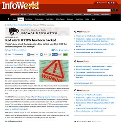 Red alert: HTTPS has been hacked