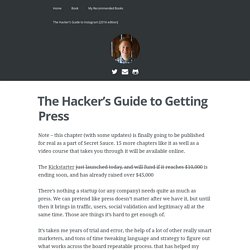 The Hacker's Guide to Getting Press – Austen Allred