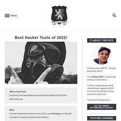 Hacker Tools (Top Ten List of 2016) Nmap, Wireshark, Metasploit