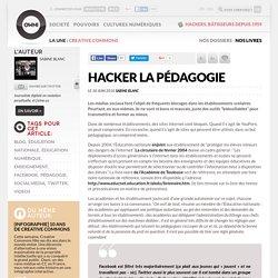 Hacker la pédagogie