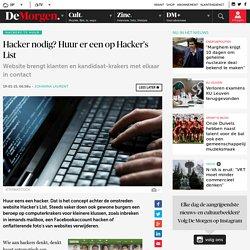 Hacker nodig? Huur er een op Hacker's List