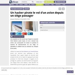 Un hacker pirate le vol d'un avion depuis un siège passager