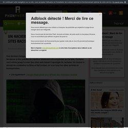 Un hacker fait tomber un à un tous les sites racistes et homophobes