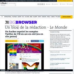 Un hacker repeint les comptes Twitter de l'EI en arc-en-ciel (ou en site porno)