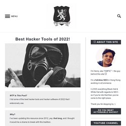 Best Hacker Tools Online - Wireless, Wifi Hacking, firewall hacking, digital forensic tools fuzzers, intrusion detection, packet crafting, password crackers, port scanners and rootkit detectors