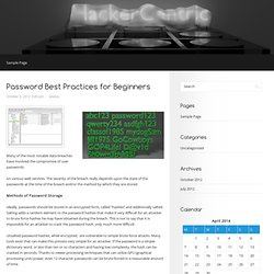 HackerCentric | Information Security and Other Cool Stuff