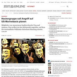 Anonymous: Hackergruppe soll Angriff auf US-Marinebasis planen