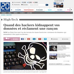 Quand des hackers kidnappent vos données et réclament une rançon
