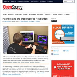 Hackers and the Open Source Revolution