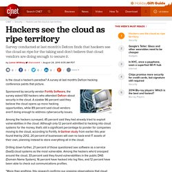 Hackers see the cloud as ripe territory | Security