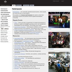 Hackerspace Wiki - About