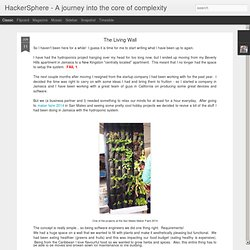 HackerSphere - A journey into the core of complexity