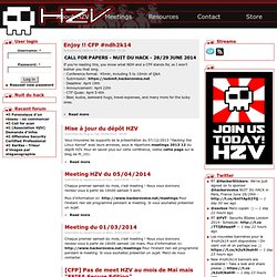 HZV / Hackerzvoice / The Hackademy | 99% White Hat