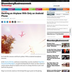 Hacking an Airplane With Only an Android Phone