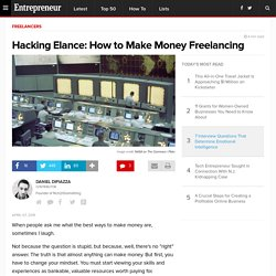 Hacking Elance: How to Make Money Freelancing