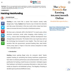 Hacking: Hackfunding