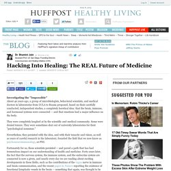 Hacking Into Healing: The REAL Future of Medicine