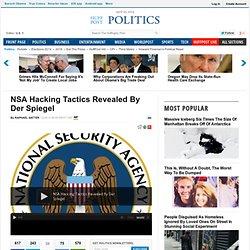 NSA Hacking Tactics Revealed By Der Spiegel