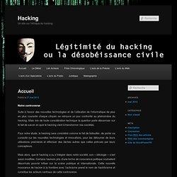 Un site sur l'éthique du hacking