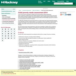 Hackney Council - Child Poverty Needs Assessment