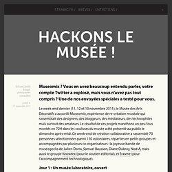 Hackons Le musée !