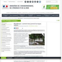 #HackRisques : comment mieux prévenir les risques naturels - Ministère de l'Environnement, de l'Energie et de la Mer