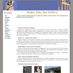 Hadès - Dieu des Enfers