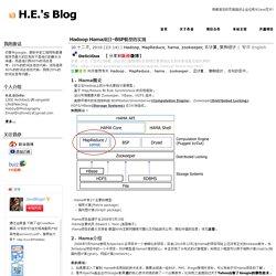 Hadoop Hama项目–BSP模型的实现 - J2EE企业应用 顾问/咨询 Java传教士 -H.E.'s Blog