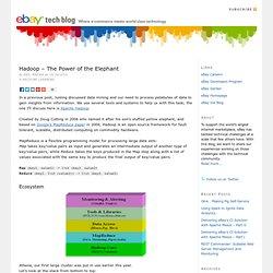 Hadoop – The Power of the Elephant — eBay Tech Blog