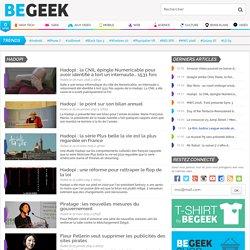 Hadopi : actualités et infos sur Begeek.fr