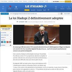 La loi Hadopi 2 définitivement adoptée