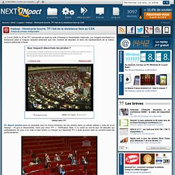 Hadopi : Hémicycle bourré, TF1 fait de la résistance face au CSA