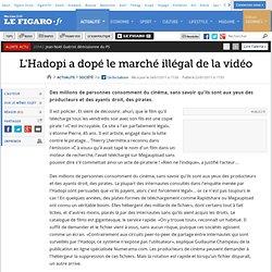 France : L'Hadopi a dopé le marché illégal de la vidéo