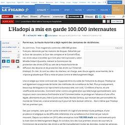 Web : L'Hadopi a mis en garde 100.000 internautes
