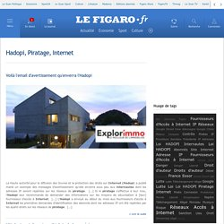 Hadopi, Piratage, Internet -