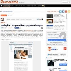 Hadopi.fr : les premières pages en images