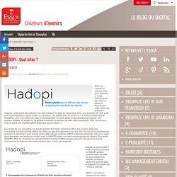 2) HADOPI : Quel bilan ? - Blog digital