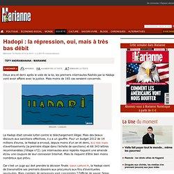 Hadopi : la répression, oui, mais à très bas débit