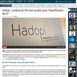 Hadopi : combien les FAI vont toucher pour l'identification des IP