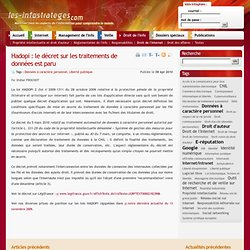 Hadopi : le décret sur les traitements de données est paru