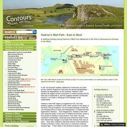 Hadrian's Wall Path - walking holidays and hiking tours in England