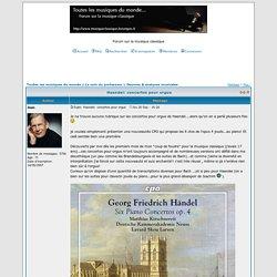 Haendel: concertos pour orgue