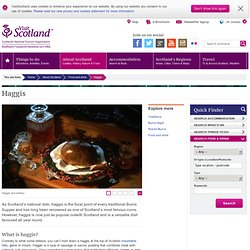 VisitScotland Food and Drink