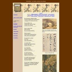 Le haïku, poème bucolique
