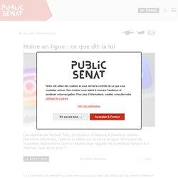 Haine en ligne : ce que dit la loi